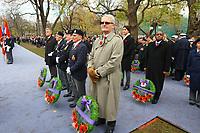 Nov 11, 2012 - Montreal, Quebec, CANADA -  Remembrance Day -  Marc Garneau