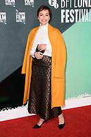 "Kristin Scott Thomas<br /> arriving for the London Film Festival 2017 screening of ""The Party"" at Embankment Gardens Cinema, London<br /> <br /> <br /> ©Ash Knotek  D3330  10/10/2017"