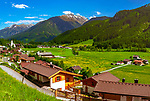 Oesterreich, Salzburger Land, Zillertal Arena, Wald im Pinzgau: beschaulicher Erholungsort | Austria, Salzburger Land, Zillertal Arena, Wald at Pinzgau: quiet holiday resort