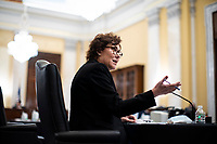 United States Senator Jacky Rosen (Democrat of Nevada), speaks during a US Senate Small Business and Entrepreneurship Committee hearing in Washington, D.C., U.S., on Wednesday, June 10, 2020. The hearing examines the government's virus relief package that offers emergency assistance to small businesses. <br /> Credit: Al Drago / Pool via CNP/AdMedia