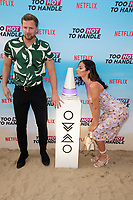 Robert Van Tromp and Christina Carmela<br /> at the 'Too Hot to Handle' season 2 screening, London.<br /> <br /> ©Ash Knotek  D3566 23/06/2021