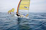 ISAF Sailing World Cup Hyères - Fédération Française de Voile. RSX Men, Louis Giard.