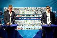 25-05-2021: Basketbal: Presentatie Trainer Donar: Groningen, manager technische zaken Martin de Vries  (l) en matthew Otten (R)
