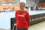 Lisa Hessler die Geschaeftsfuehrerin der Eulen Ludwigshafen beim Spiel in der Handball Bundesliga, Die Eulen Ludwigshafen - Tusem Essen.<br /> <br /> Foto © PIX-Sportfotos *** Foto ist honorarpflichtig! *** Auf Anfrage in hoeherer Qualitaet/Aufloesung. Belegexemplar erbeten. Veroeffentlichung ausschliesslich fuer journalistisch-publizistische Zwecke. For editorial use only.