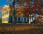 My Old Kentucky Home State Park, KY: Federal Hill in fall color