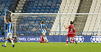 3rd November 2020, The John Smiths Stadium, Huddersfield, Yorkshire, England; English Football League Championship Football, Huddersfield Town versus Bristol City; Jonathan Hogg of Huddersfield Town celebrates as the ball hits the back of the net for his goal in minute 43