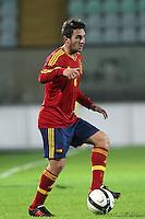 "Koke.Siena 13/11/2012 Stadio ""Franchi"".Football Calcio Nazionale U21.Italia v Spagna.Foto Insidefoto Paolo Nucci."