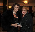"""PATRIZIA DE BLANCK CON ANNAMARIA JACOROSSI<br /> PRIMA DE """"LA TRAVIATA"""" TEATRO DELL'OPERA DI ROMA 2009"""
