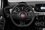 Car pictures of steering wheel view of a 2020 Fiat 500X Sport 5 Door SUV Steering Wheel