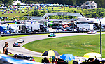 SALISBURY, CT. - 17 July 2021-071721SV05-Hundreds of fans line the race course for the IMSA Northeast Grand Prix event at Lime Rock Park in Lakeville Saturday.  <br /> Steven Valenti Republican-American