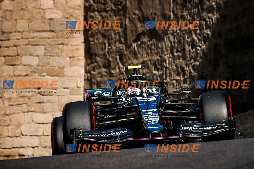05 VETTEL Sebastian (ger), Aston Martin F1 AMR21, action during the Formula 1 Azerbaijan Grand Prix 2021 from June 04 to 06, 2021 on the Baku City Circuit, in Baku, Azerbaijan -<br /> FORMULA 1 : Grand Prix Azerbaijan <br /> 05/06/2021 <br /> Photo DPPI/Panoramic/Insidefoto <br /> ITALY ONLY