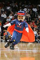 The Virginia Cavalier mascot at the University of Virginia in Charlottesville, VA. Photo/Andrew Shurtleff.