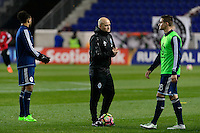 Harrison, NJ - Wednesday Feb. 22, 2017: Gordon Forrest prior to a Scotiabank CONCACAF Champions League quarterfinal match between the New York Red Bulls and the Vancouver Whitecaps FC at Red Bull Arena.