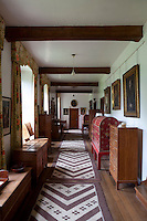 The furniture in Rodmarton was designed by Ernest Barnsley and his brother Sidney and Peter Waals and made by Alfred Wright's joiners