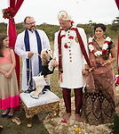 Alana and Ben-Or's Wedding<br /> The Grove, New Jersey<br /> September 2, 2019 Pooja and Travis Indian Wedding on a bluff backed by the Montauk Lighthouse