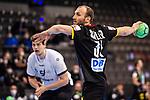 Marcel Schiller (Deutschland #31) ;  ; EHF EURO-Qualifikation / EM-Qualifikation / Handball-Laenderspiel: Deutschland - Estland am 02.05.2021 in Stuttgart (PORSCHE Arena), Baden-Wuerttemberg, Deutschland.<br /> <br /> Foto © PIX-Sportfotos *** Foto ist honorarpflichtig! *** Auf Anfrage in hoeherer Qualitaet/Aufloesung. Belegexemplar erbeten. Veroeffentlichung ausschliesslich fuer journalistisch-publizistische Zwecke. For editorial use only.