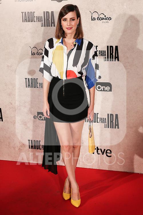 "Natalia de Molina during the premiere of the film ""Tarde para la Ira"" in Madrid. September 08, 2016. (ALTERPHOTOS/Rodrigo Jimenez)"