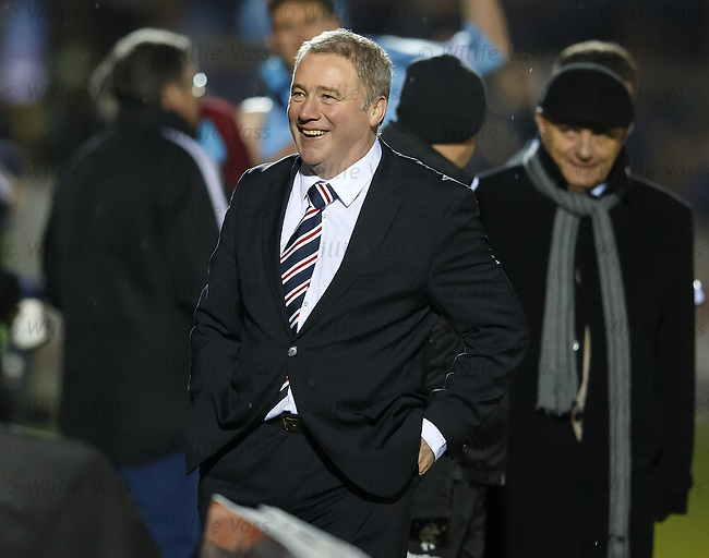 Ally McCoist laughing delight as Rangers seal victory with two goals