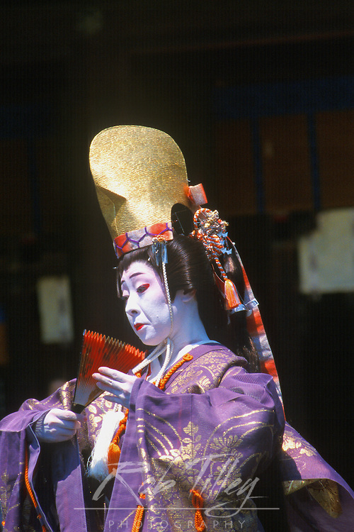 Spring Festival (Haru Matsuri) Dancer, Meiji Shrine, Tokyo, Japan