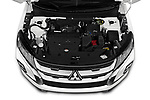 Car stock 2020 Mitsubishi Outlander Sport GT 5 Door SUV engine high angle detail view