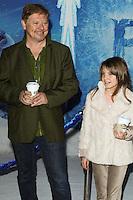 "HOLLYWOOD, CA - NOVEMBER 19: Dave Foley, Alina Foley at the World Premiere Of Walt Disney Animation Studios' ""Frozen"" held at the El Capitan Theatre on November 19, 2013 in Hollywood, California. (Photo by David Acosta/Celebrity Monitor)"