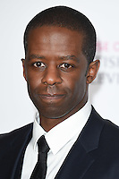 Adrian Lester<br /> in the winners room at the 2016 BAFTA TV Awards, Royal Festival Hall, London<br /> <br /> <br /> ©Ash Knotek  D3115 8/05/2016