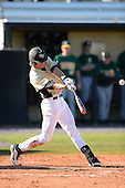 Central Florida Knights outfielder Sam Tolleson (16) during a game against the Siena Saints at Jay Bergman Field on February 16, 2014 in Orlando, Florida.  UCF defeated Siena 9-6.  (Copyright Mike Janes Photography)
