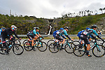 The peloton in action during Stage 4 of the 2018 Artic Race of Norway, running 145.5km from Kvalsund to Alta, Norway. 18th August 2018. <br /> <br /> Picture: ASO/Gautier Demouveaux | Cyclefile<br /> All photos usage must carry mandatory copyright credit (© Cyclefile | ASO/Gautier Demouveaux)