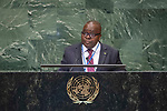 General Assembly: 16th meeting<br /> <br /> 	<br /> His Excellency Michel Xavier BIANG . Chair of Delegation of Gabon