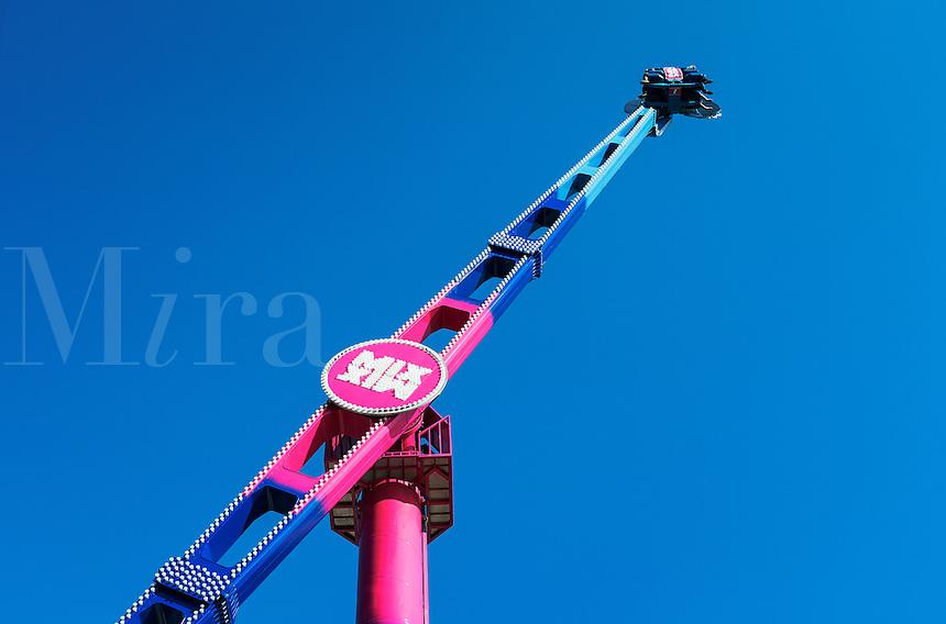The Mix amusement ride.
