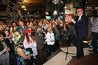 Pictured: Mal Pope at the Hyst in Swansea, Wales, UK. Thursday 07 December 2017<br />Re: Coventry has been chosen to be the UK's City of Culture for 2021.<br />The other places in the running for the title were Swansea, Paisley, Stoke-on-Trent and Sunderland.