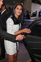 leila bekhti quittant le palais des festivals apres le repas d ouverture du soixante neuvieme festivals du film a cannes se deroulant au salon des ambassadeurs le mercredi 11 mai 2016