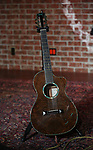 Guitar for Dean Dillon in concert to launch 'Tennessee Whiskey' The New Musical based on his life at The Studio at Opry City Stage on May 12, 2018 in New York City.