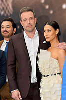 """LOS ANGELES, CA: 01, 2020: Al Madrigal, Ben Affleck & Janina Gavankar at the world premiere of """"The Way Back"""" at the Regal LA Live.<br /> Picture: Paul Smith/Featureflash"""