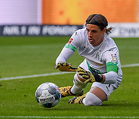 Torwart Yann Sommer (Borussia Mönchengladbach) - 16.05.2020, Fussball 1.Bundesliga, 26.Spieltag, Eintracht Frankfurt  - Borussia Moenchengladbach emspor, v.l. Stadionansicht / Ansicht / Arena / Stadion / Innenraum / Innen / Innenansicht / Videowall<br /> <br /> <br /> Foto: Jan Huebner/Pool VIA Marc Schüler/Sportpics.de<br /> <br /> Nur für journalistische Zwecke. Only for editorial use. (DFL/DFB REGULATIONS PROHIBIT ANY USE OF PHOTOGRAPHS as IMAGE SEQUENCES and/or QUASI-VIDEO)