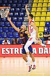 Turkish Airlines Euroleague 2020/2021. <br /> Regular Season-Round 10.<br /> FC Barcelona vs Crvena Zvezda MTS Belgrade: 76-65.<br /> Nick Calathes vs Ognjen Dobric.