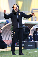 Filippo Inzaghi coach of Benevento Calcio dejection during the Serie A football match between Benevento Calcio and Genoa CFC at stadio Ciro Vigorito in Benevento (Italy), December 20th, 2020. <br /> Photo Cesare Purini / Insidefoto