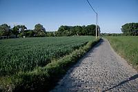 Lennikseweg along the Breugel Route in Lennik<br /> <br /> Cycling in Flanders (BEL)<br /> cycling hotspots in Brabant<br /> <br /> ©kramon
