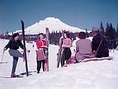 Y-490403C-1. Mt. Hood color shots. April 3, 1949