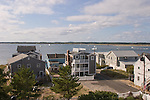 View from Plum Island lighthouse. Newburyport, MA