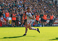 9th October 2021; Brentford Community Stadium, Brentford, London; Gallagher Premiership Rugby, London Irish versus Leicester Tigers; George Ford of Leicester Tigers