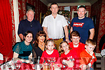Enjoying New Years Eve in Cassidys.<br /> Seated l to r: Liz O'Driscoll, Kay O'Halloran, Holly, Aisling and Liam O'Driscoll and Joan Dineen.<br /> Back l to r: Mike O'Driscoll, Mark O'Halloran and Derek O'Driscoll from Ballyheigue