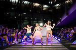 Anita del Rey, Flora Gonzalez and Nadia de Santiago during the fashion show By Nerea Garmendia of his 2nd Anniversay at COAM in Madrid. June 06. 2016. (ALTERPHOTOS/Borja B.Hojas)