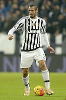 Giorgio Chiellini Juventus,<br /> Torino 16-12-2015, Juventus Stadium, Football Calcio 2015/2016 Coppa Italia, derby, Juventus - Torino, Foto Filippo Alfero/Insidefoto