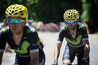 Alejandro Valverde (ESP/Movistar)<br /> <br /> st16: Morain-en-Montagne to Bern (SUI) / 209km<br /> 103rd Tour de France 2016