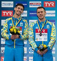 KVASHA Illya, KOLODIY Oleg UKR Silver Medal<br /> 3m Synchronised Men Final<br /> LEN European Diving Championships 2017<br /> Sport Center LIKO, Kiev UKR<br /> Jun 12 - 18, 2017<br /> Day06 17-06-2017<br /> Photo © Giorgio Scala/Deepbluemedia/Insidefoto