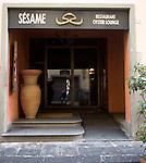 Exterior, Sesame Restaurant, Florence, Tuscany, Italy