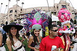 July 21 2010: The annual hat contest on opening day of the 2010 racing season at Del Mar Race Track in Del Mar CA.