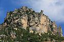23/08/13 - CAUSSE MEJEAN - LOZERE - FRANCE - Village semi troglodyte d Eglazines dans les Gorges du Tarn - Photo Jerome CHABANNE