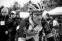 runner-up Fabian Cancellara's (SUI/Leopard-Trek) post race face<br /> <br /> Milan - San Remo 2013: the iced edition.<br /> <br /> ©kramon